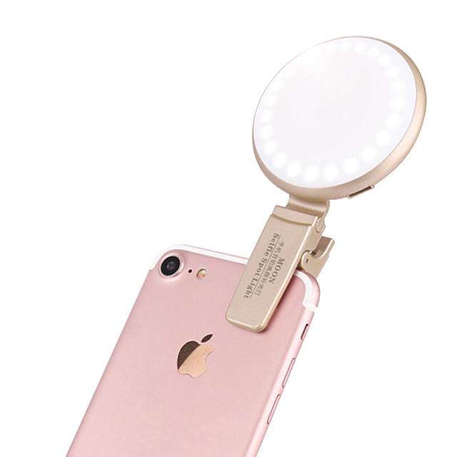 Biaze telefon merceği alüminyum ışıklı cep telefonu kamera lensleri seti Samsung için android akıllı telefonlar iphoned