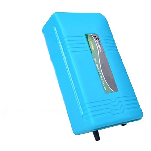 acquario batteria di backup serbatoio di pesce pompa d'aria aeratore tubo ossigeno portatile