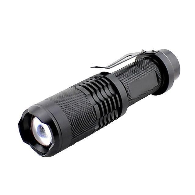 Lampes Torches LED 1000 lm LED - Émetteurs Manuel Mode d'Eclairage Extérieur Camping / Randonnée / Spéléologie Extérieur