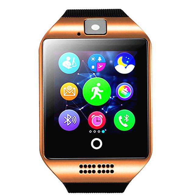 q18 smartwatch bracelet bluetooth imperméable à l'eau téléphone photo motion step compte multi-fonction.