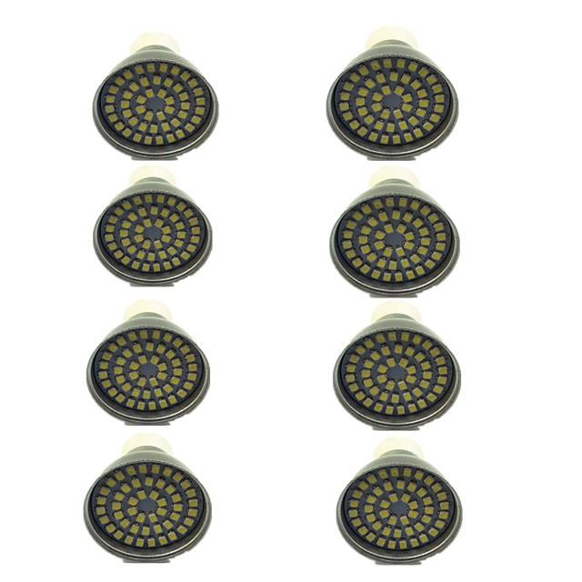 8pcs 3 W Faretti LED 500 lm GU10 48 Perline LED SMD 2835 Decorativo Bianco caldo Luce fredda 12 V