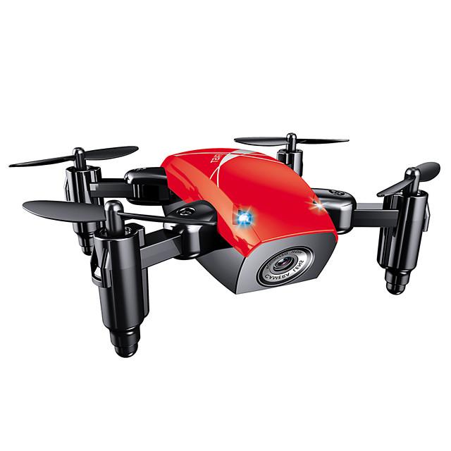 RC Dronă SHR / C S9 4CH 6 Axe 2.4G Cameră HD 0.3MP 480P Quadcopter RC O Tastă Pentru întoarcere / Auto-Decolare / Acces în Timp Real Footage Quadcopter RC / Telecomandă / Cablu USB / Planare / CE