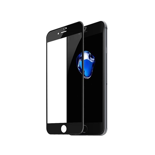 Ekran Koruyucu Apple için iPhone 8 Plus Temperli Cam 1 parça Ön Ekran Koruyucu 3D Kavisli Kenar Parmak İzi Yapmayan Çizilmeye Dayanıklı