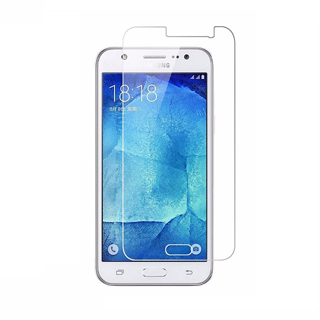 Samsung GalaxyScreen ProtectorJ7 (2016) Yüksek Tanımlama (HD) Ön Ekran Koruyucu 1 parça Temperli Cam