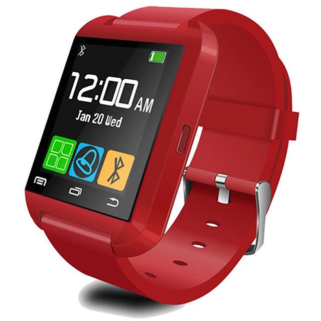 u8 smartwatch bluetooth cevaplayın ve telefon arayın passometer hırsız alarm fonksiyonları