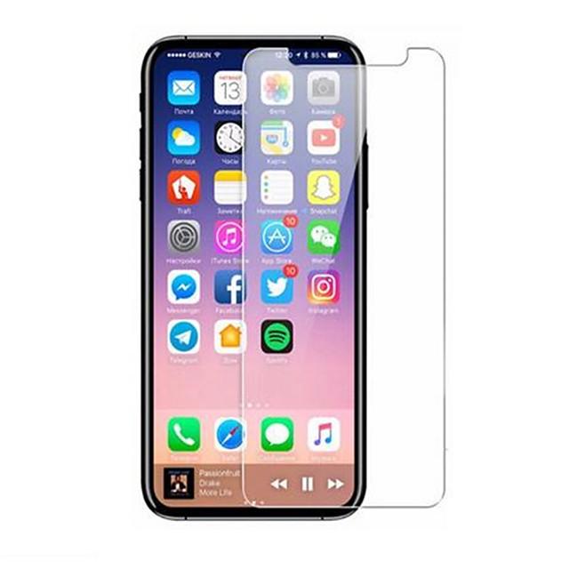 AppleScreen ProtectoriPhone X Yüksek Tanımlama (HD) Ön Ekran Koruyucu 1 parça Temperli Cam