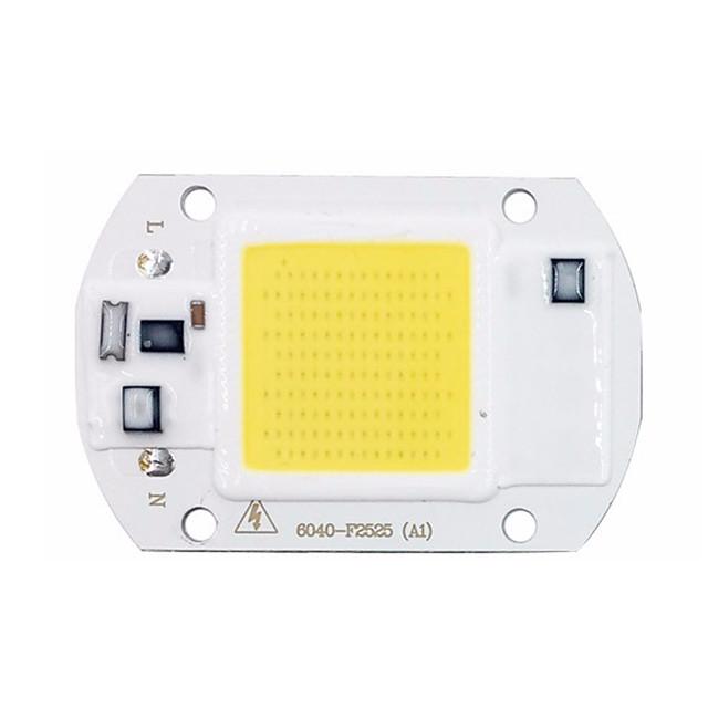 1pc 20w cob led chip for diy прожектор 220V ac холодный белый теплый белый 1шт