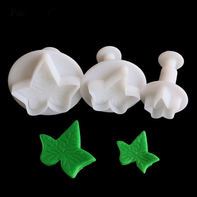 1pc Pasta Kalıpları Plastikler Günlük Kullanım