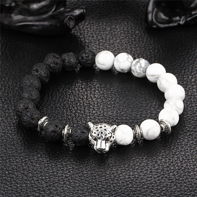 نسائي عقيق يماني أساور حبلا أسورة يين يانغ الطبيعة حجر مجوهرات سوار أسود من أجل مناسب للحفلات هدية