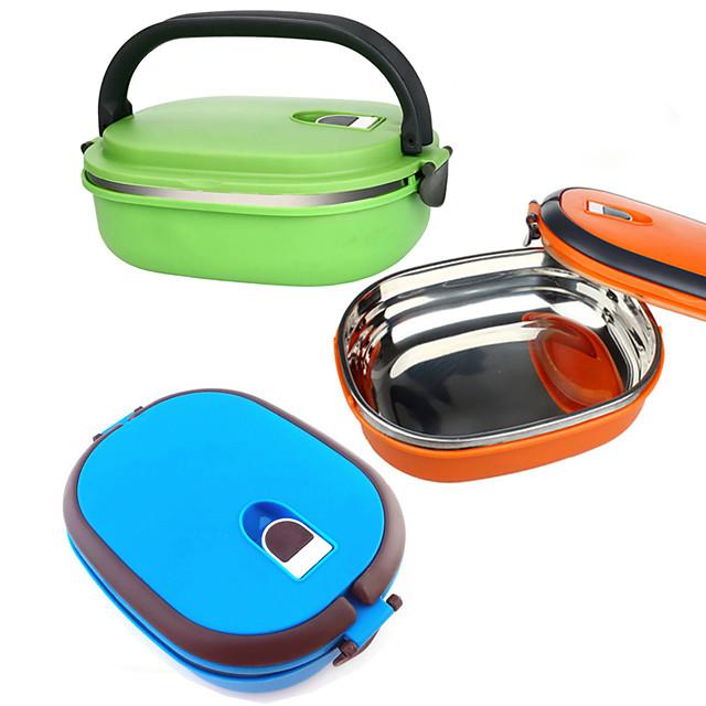 Organizarea bucătăriei Cutii de Prânz Oțel Inoxidabil Uşor de Folosit 1 buc