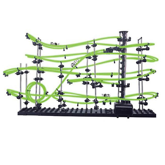 Spacerail 231-3G 13500mm Circuit de Voiture sur Rail Circuits Set de Circuits à Billes Chargeur Compact Rigide Phosphorescent Fluorescent Noctilumineux Plastique Acétate / Plastique ABS Enfant