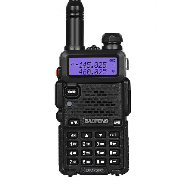BAOFENG Talkie walkie Radio bidirectionnelle 5 - 10 km 5 - 10 km 2000 mAh 5 W