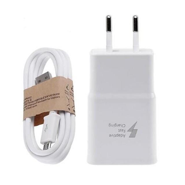Зарядное устройство для дома Зарядное устройство USB Стандарт США / Евро стандарт Быстрая зарядка / Зарядное устройство и аксессуары 1 USB порт 2 A для