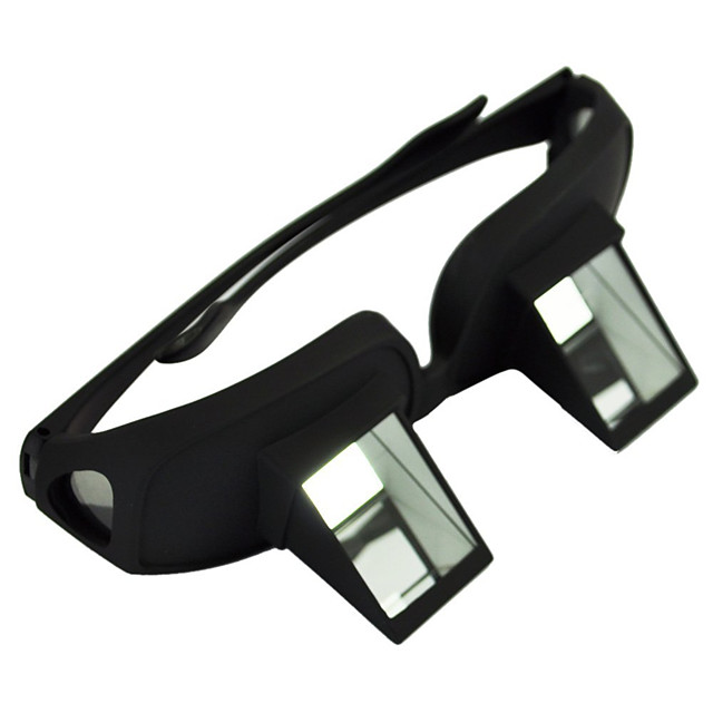 cu vedere la ochelari telescop ochelari leneș plastic negru rezistent la apa rezistent la intemperii
