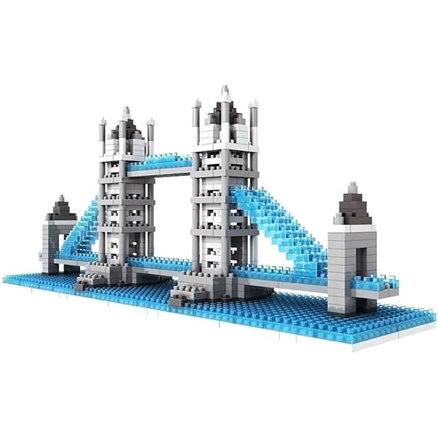 Bouwblokken Educatief speelgoed LOZ-blokken Bouwset speelgoed 570 pcs Architectuur Beroemd gebouw London bridge verenigbaar Legoing Niet giftig DHZ Klassiek Jongens Voor meisjes Speeltjes Geschenk