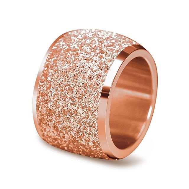 Band Ring Vörös arany Ezüst Rozsdamentes acél Klasszikus Vintage 6 7 8 9 / Női