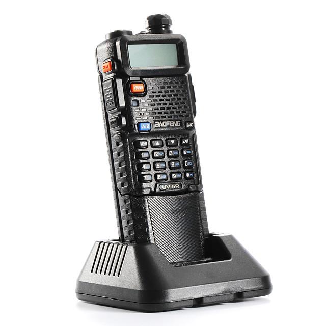 BAOFENG Talkie walkie Portable Analogique Alarme d'urgence Avertissement Batterie Faible Logiciel PC Programmable Radio bidirectionnelle 3 - 5 km 3 - 5 km 128 5 W
