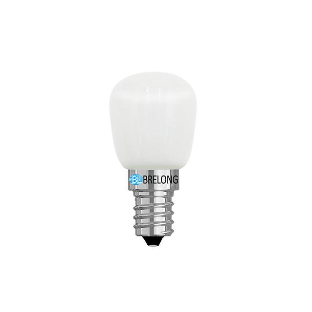 brelong 1 kom 2w 1led regulatora hladnjaka žarulja 220v e14 / e12 / bijelo / toplo bijelo