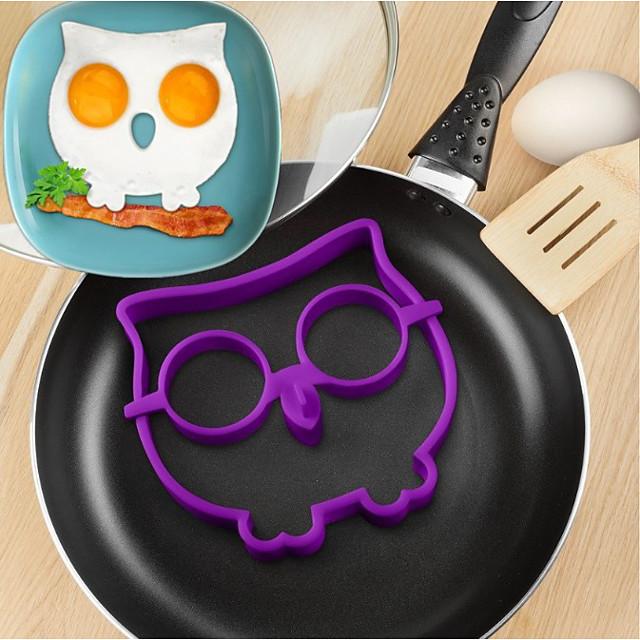 Silicon Mold DIY Ustensile Ou Instrumentul de coacere Bucătărie Gadget creativ Reparații Instrumente pentru ustensile de bucătărie pentru ou 1 buc