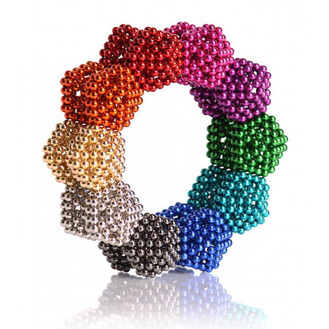 216/512/1000 pcs 5mm Jucării Magnet bile magnetice Lego Super Strong pământuri rare magneți Magnet Neodymium Magnet Neodymium Clasic & Fără Vârstă Stres și anxietate relief Birouri pentru birou