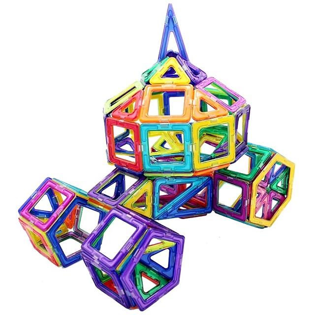 Magnetische blokken Magnetische tegels Bouwblokken 238 pcs transformable Jongens Meisjes Speeltjes Geschenk / Kinderen