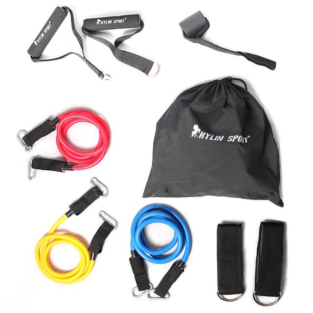 KYLINSPORT Set Benzi de Rezistență Trusă Curea Gleznă Ancora de ancorare Cauciuc Antrenament forță Tracțiuni Fizioterapie Yoga Pilates Fitness Pentru Casă Birou