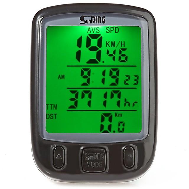 SUNDING 563A サイクルコンピューター 防水 携帯用 ワイヤー入り マウンテンバイク サイクリング / バイク サイクリング