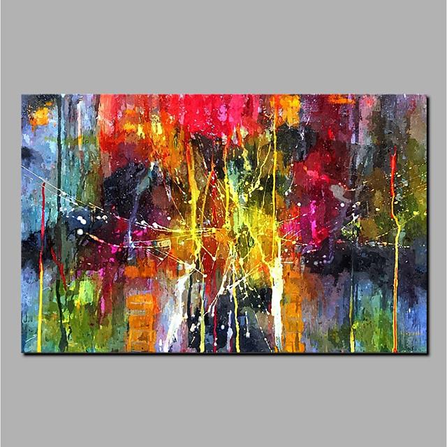 ulje na platnu ručno oslikana apstraktna zidna slika valjanog platna uređenje doma