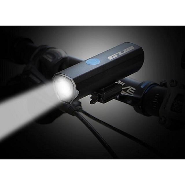 LED Luci bici Torce LED Luce frontale per bici Fanale anteriore LED Bicicletta Ciclismo Impermeabile Modalità multiple Super luminoso Portatile Batteria al litio 300 lm Li-Batteria integrata / USB