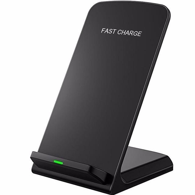 Беспроводное зарядное устройство Зарядное устройство USB Универсальный Беспроводное зарядное устройство / Qi Не поддерживается 2 A 100~240 V для iPhone X / iPhone 8 Pluss / iPhone 8