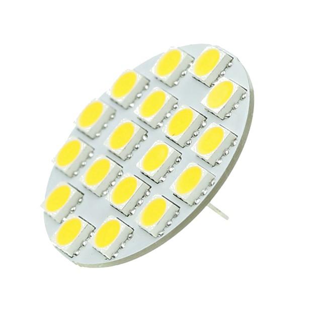 1 buc 5 W Becuri LED Bi-pin 540 lm G4 T 18 LED-uri de margele SMD 5730 Decorativ Alb Cald Alb Rece 12-24 V