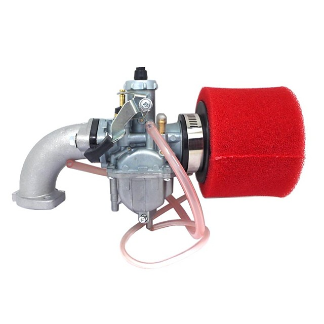 Czerwony mikuni pz26 carb manifold filtr oleju uszczelka oleju do lifan 125cc dirt pit bike atv vm2226mm
