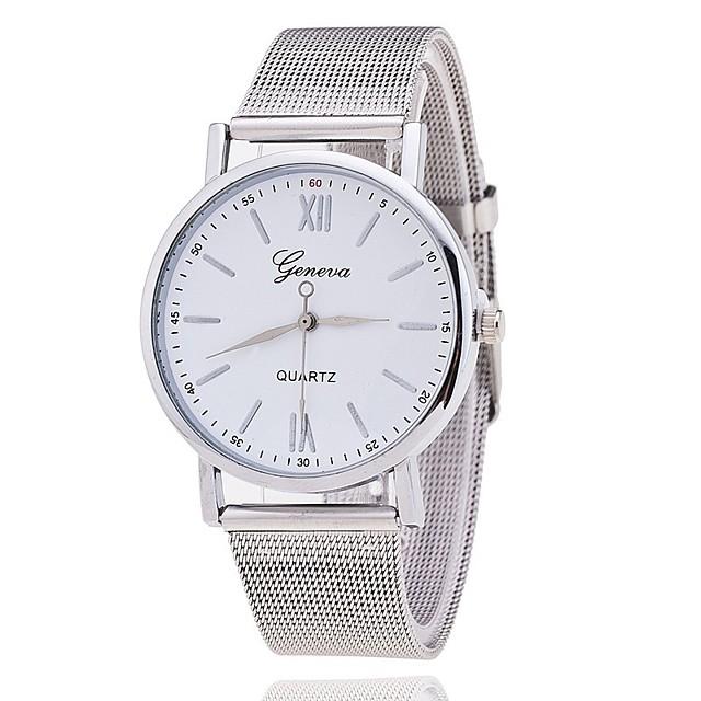 Pentru femei Ceas Elegant  Ceas La Modă Chineză Quartz Ceas Casual Aliaj Bandă Casual minimalist Argint