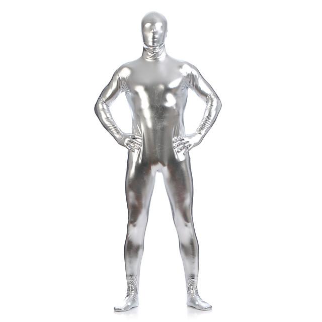 Zentai-Pakken Skin Suit Full Body Suit Ninja Volwassenen Spandex Latex Cosplaykostuums Sekse Heren Dames Effen Halloween Maskerade