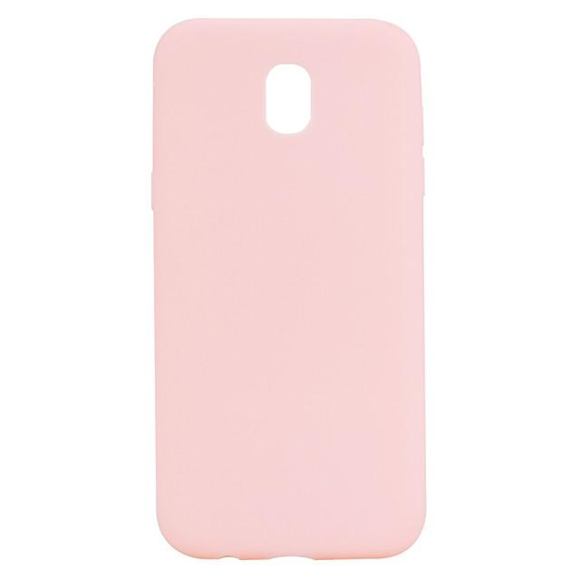 Etui Til Samsung Galaxy J7 (2017) / J7 (2016) / J5 (2017) Syrematteret Bagcover Ensfarvet Blødt TPU