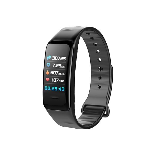 YY-C1S Dame Uita-te inteligent Brățară inteligent Android iOS Bluetooth Rezistent la apă Monitor Ritm Cardiac Măsurare Tensiune Arterială Touch Screen Calorii Arse Pedometru Reamintire Apel Monitor