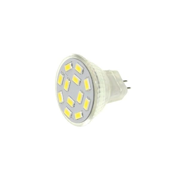 1pc 6 W Faretti LED 360 lm MR11 MR11 12 Perline LED SMD 5730 Decorativo Bianco caldo Luce fredda 12-24 V