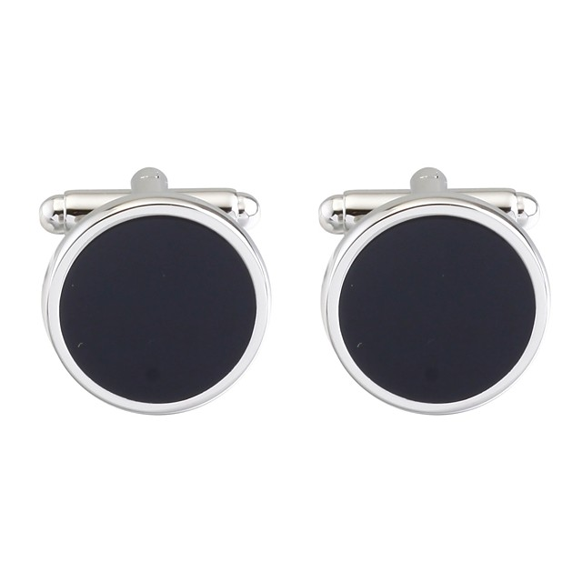 أزرار أكمام الآسيوي عتيق بروش مجوهرات أسود من أجل مناسب للبس اليومي رسمي