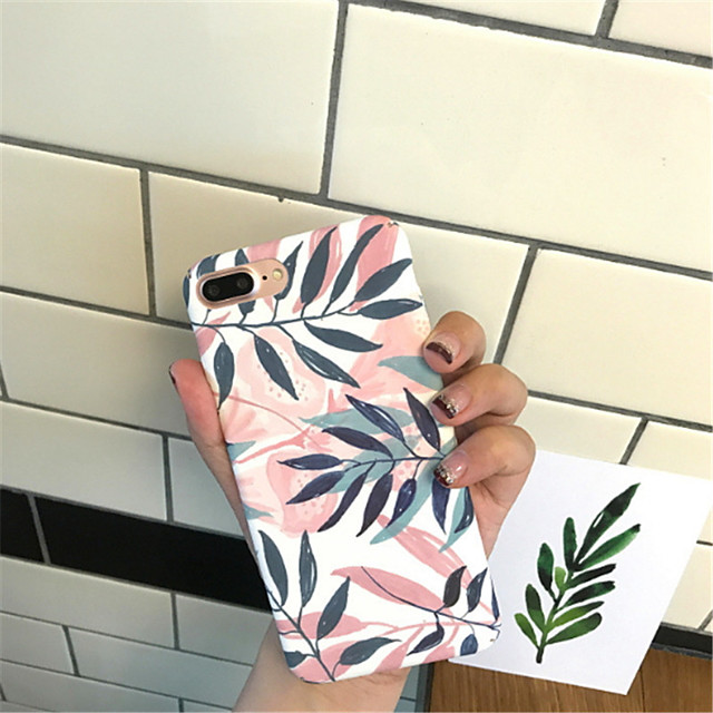 Case For Apple iPhone X / iPhone 8 Plus / iPhone 8 Pattern Back Cover Cartoon Hard PC