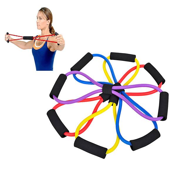 Benzi de exerciții pentru Cauciuc În aer liber Fitness Gimnastică antrenament Culori aleatorii