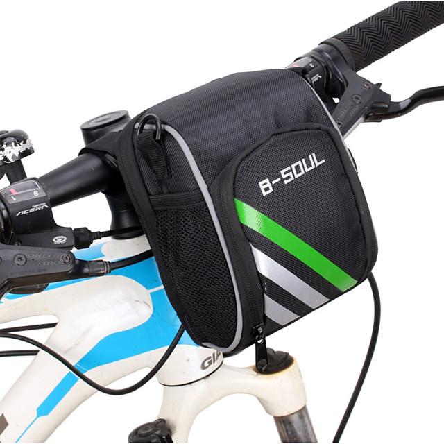 Sacoche de Guidon de Vélo 6 pouce Cyclisme pour Cyclisme Noir Cyclisme / Vélo