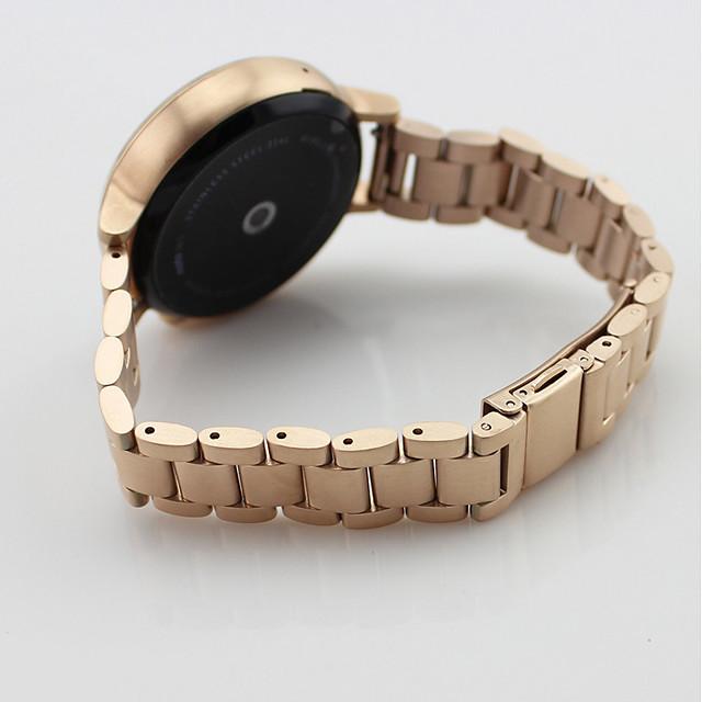 Klokkerem til Gear S3 Frontier Samsung Galaxy Moderne spenne Rustfritt stål Håndleddsrem