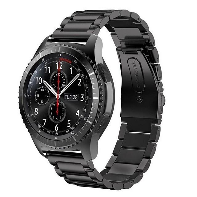 Ремешок для часов для Gear S3 Frontier Samsung Galaxy Современная застежка Металл Повязка на запястье
