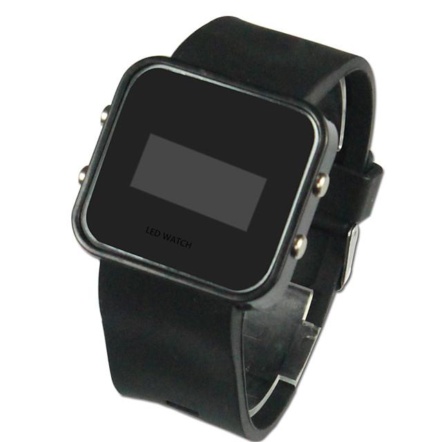 Bărbați Ceas de Mână Ceas digital Digital Silicon Negru Calendar LED Piloane de Menținut Carnea Charm - Negru Un an Durată de Viaţă Baterie / SSUO CR2025