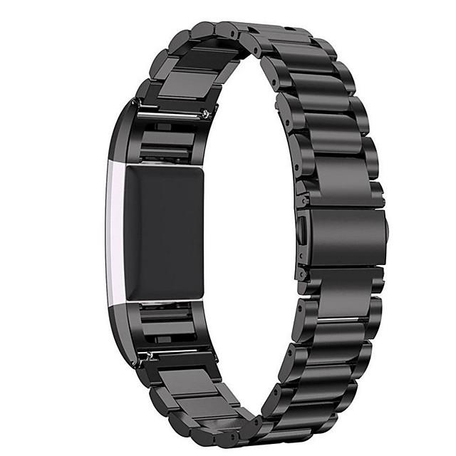 Ремешок для часов для Fitbit Charge 2 Fitbit Современная застежка Нержавеющая сталь Повязка на запястье