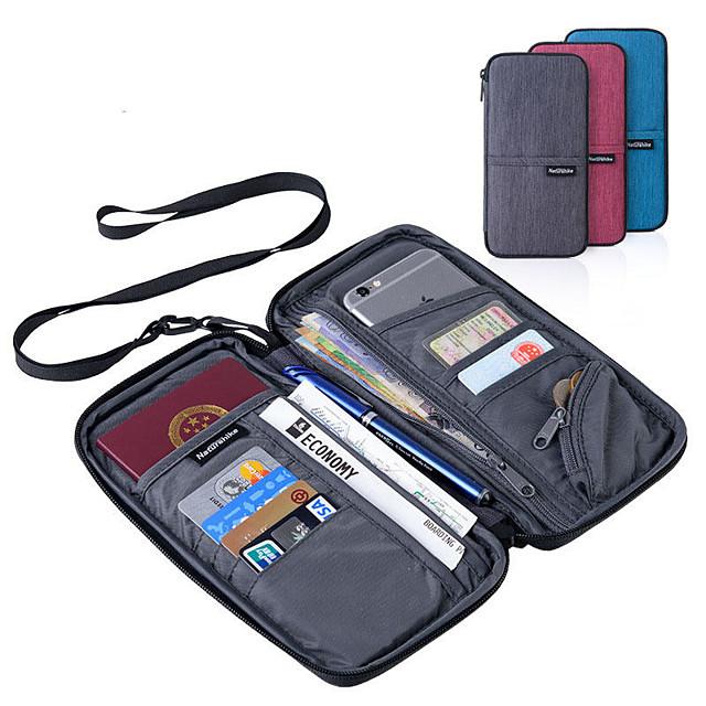 Etui na paszport i dokumenty Poliester Przenośny / Akcesoria do walizek / Wielofunkcyjny Solidne kolory