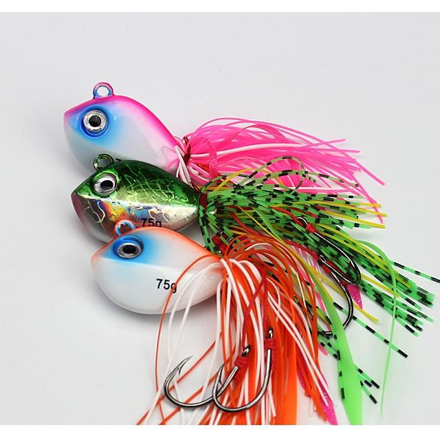 1 pcs leurres souples Spinnerbaits Normal Affaissé Bass Truite Brochet Pêche en mer Pêche à la mouche Pêche d'appât
