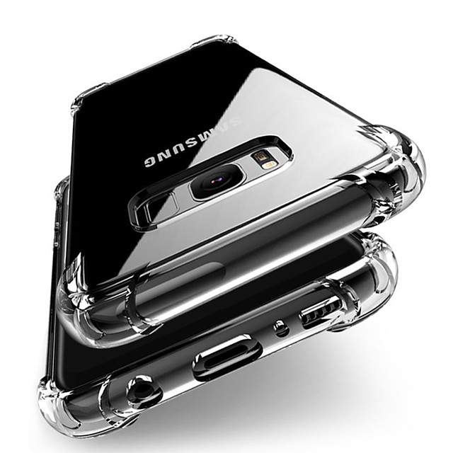 Θήκη Za Samsung Galaxy S9 / S9 Plus / S8 Plus Otporno na trešnju / Prozirno tijelo Stražnja maska Jednobojni Mekano TPU