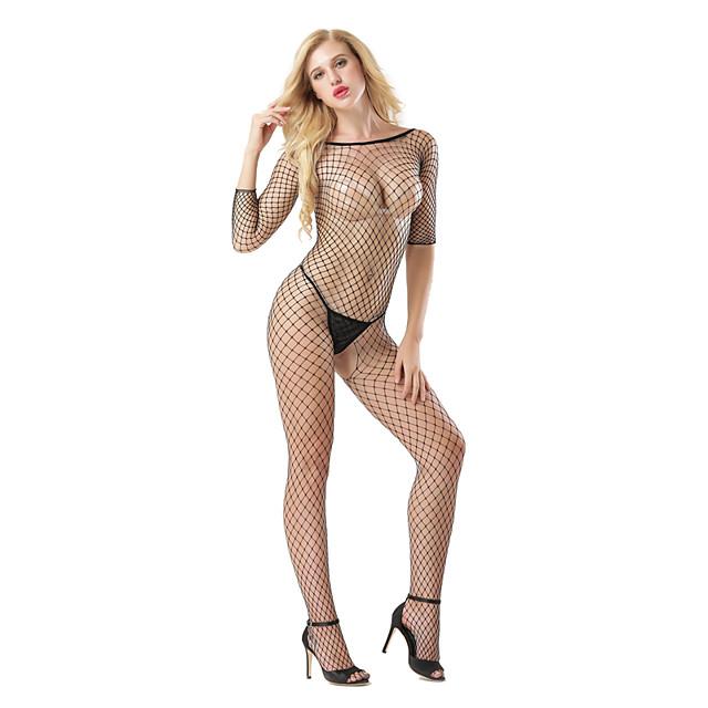 Femme Jupes - Jacquard Maille Noir Taille unique / Costumes / Super sexy