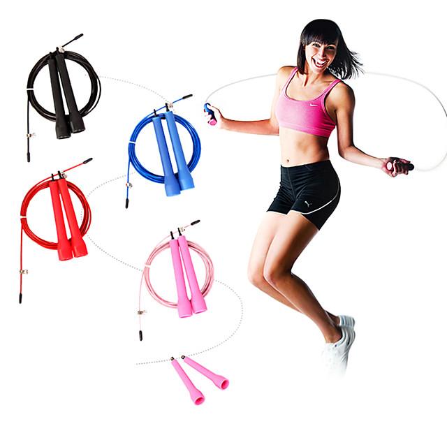 KYLINSPORT Coardă Oțel Portabil Viteză alunecare anti- Durabil Crossfit Pierdere în greutate Antrenament Box Fitness Gimnastică Pentru Bărbați Dame Sport exterior